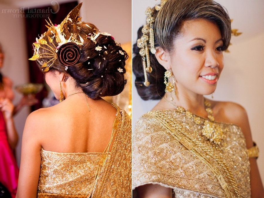 Arick + Julie: Cambodian Wedding Photographer Pertaining To Khmer Wedding Hairstyles (View 9 of 15)