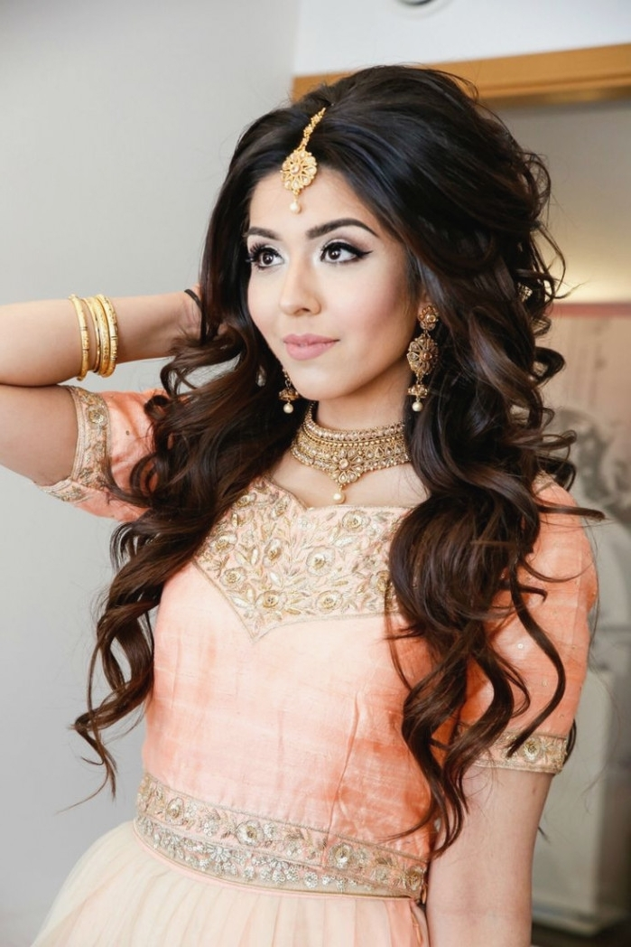 Asian Bridesmaid Hairstyles 13 Ideas About Asian Wedding Hair On With Asian Wedding Hairstyles (View 8 of 15)