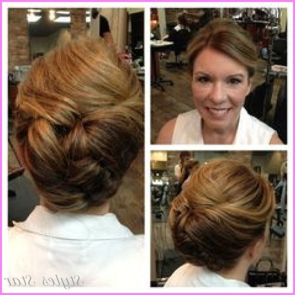 Awesome Mother Of The Bride Hair Updo | Stars Style | Pinterest Regarding Mother Of Groom Hairstyles For Wedding (View 8 of 15)