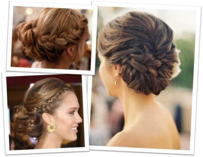 Awesome Wedding Hair Updos For Medium Length Hair Contemporary Within Bridesmaid Hairstyles For Short To Medium Length Hair (View 8 of 15)