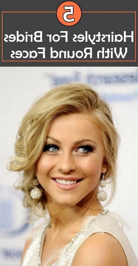 Awesome Wedding Hairstyle For Round Face To Look Slim | Face And Pertaining To Wedding Hairstyles For Slim Face (View 8 of 15)