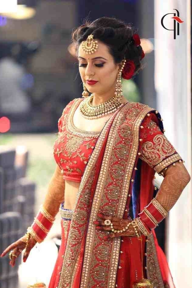 Bangs Hairstyles Lehenga Hairstyles With Lehenga Ideas Bangladeshi Throughout Wedding Hairstyles For Lehenga (View 13 of 15)