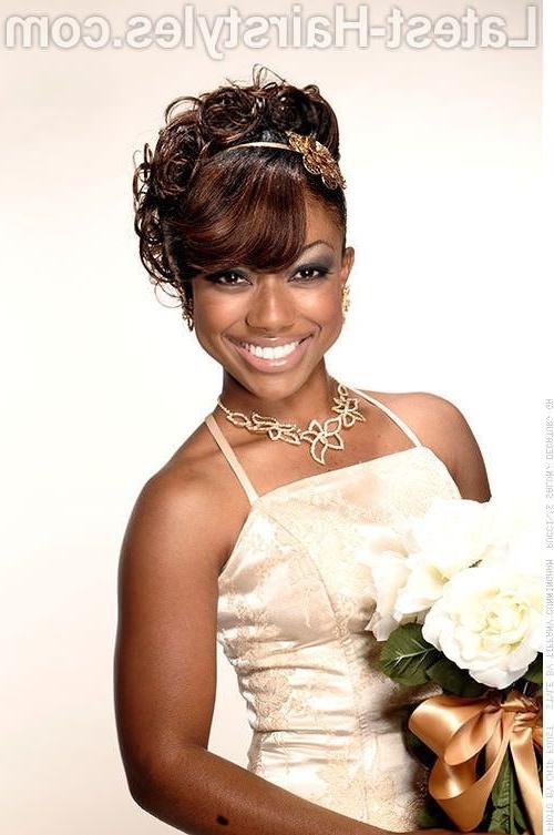 B??ut?ful African American Wedding Updo Hairstyles – Hair Style For Updos African American Wedding Hairstyles (View 11 of 15)
