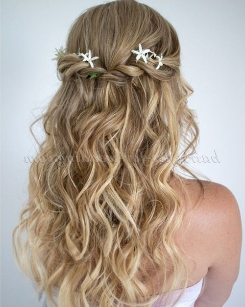 Beach Wedding Hairstyles – Beach Wedding Hairstyle | Hairstyles For Intended For Beach Wedding Hairstyles (View 5 of 15)
