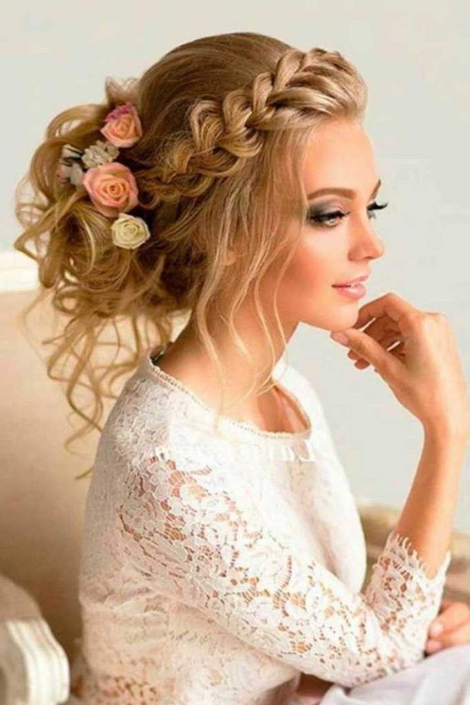 Beach Wedding Hairstyles For Long Hair | Engagement/wedding Pertaining To Beach Wedding Hairstyles For Short Hair (View 6 of 15)