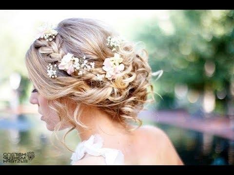 Beach Wedding Hairstyles For Short Hair – Youtube With Beach Wedding Hairstyles For Short Hair (View 14 of 15)