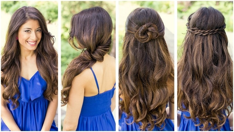 Beautiful Long Hairstyles For Wedding Guest Gallery – Styles & Ideas Regarding Wedding Guest Hairstyles For Long Straight Hair (View 2 of 15)
