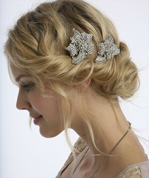 Beautiful Modern Bridesmaid Hairstyles – Sheideas Pertaining To Modern Wedding Hairstyles For Bridesmaids (View 2 of 15)