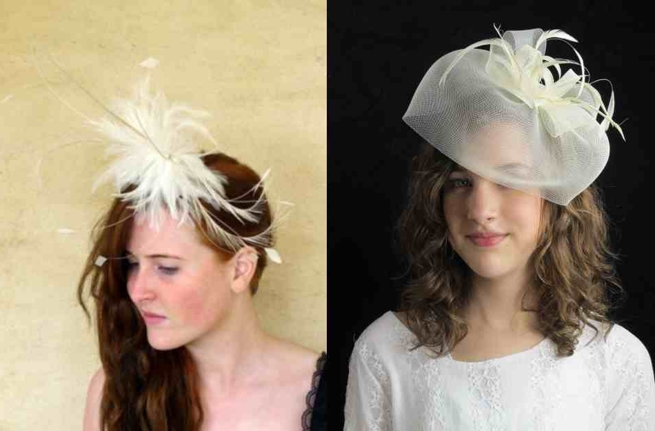 Beautiful Photos Of Wedding Guest Hairstyles With Fascinators Inside Wedding Guest Hairstyles For Medium Length Hair With Fascinator (View 4 of 15)