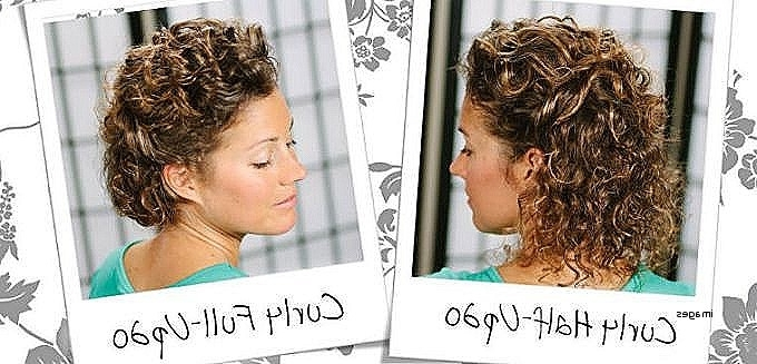 Beautiful Prom Hairstyles For Naturally Curly Hair Curly Hairstyles Regarding Wedding Hairstyles For Short Natural Curly Hair (View 9 of 15)