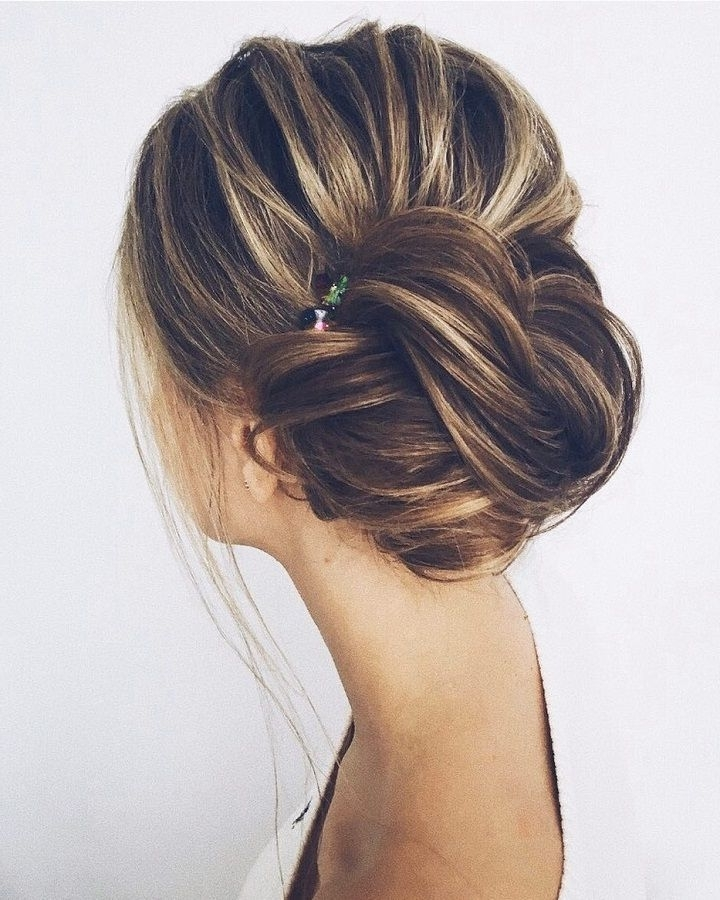 Beautiful & Unique Updo Wedding Hairstyle Ideas | Fabmood Messy Throughout Messy Wedding Hairstyles (View 8 of 15)
