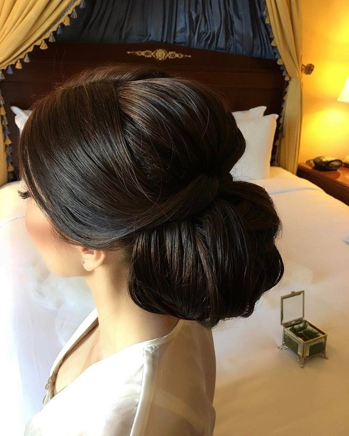 Beautiful Updo Bridal Hairstyle To Inspire You | Elegant Updo Pertaining To Elegant Updo Wedding Hairstyles (View 8 of 15)