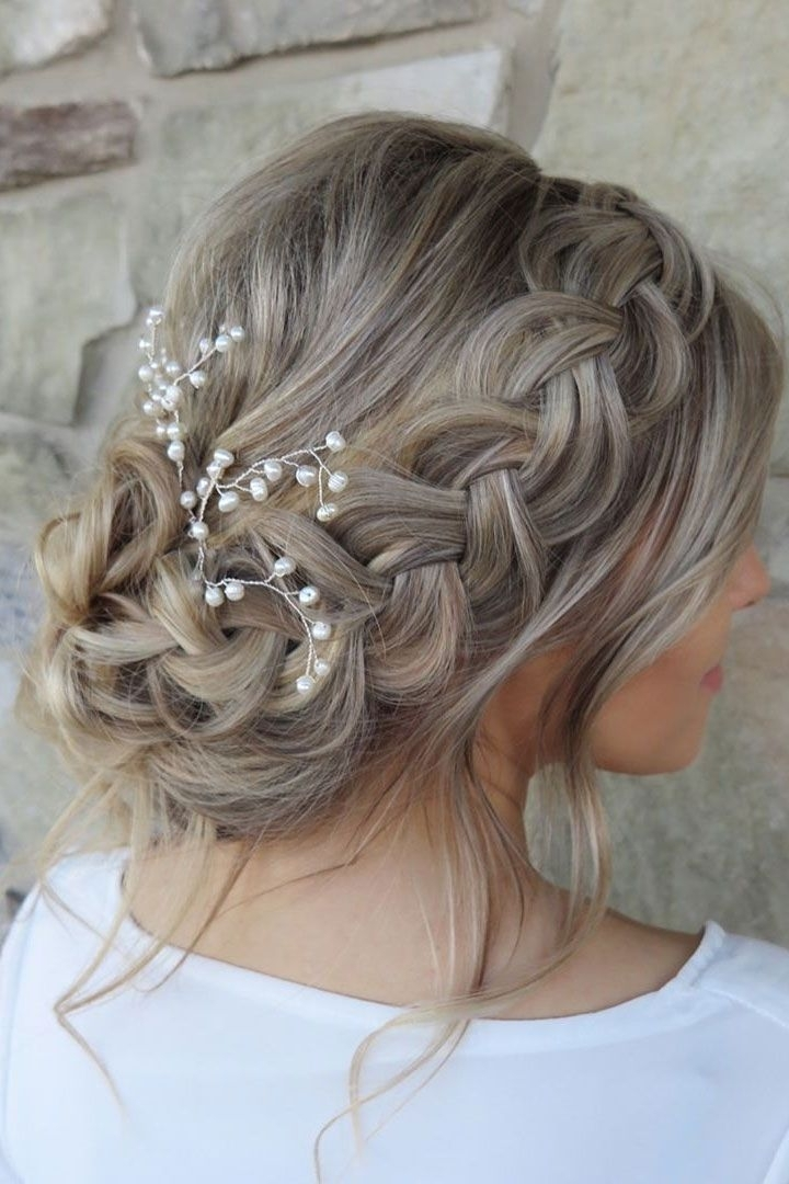 Beautiful Wedding Hairstyle Inspiration | Pinterest | Prom, Pixie In Wedding Hairstyles For Bridesmaids With Short Hair (View 3 of 15)