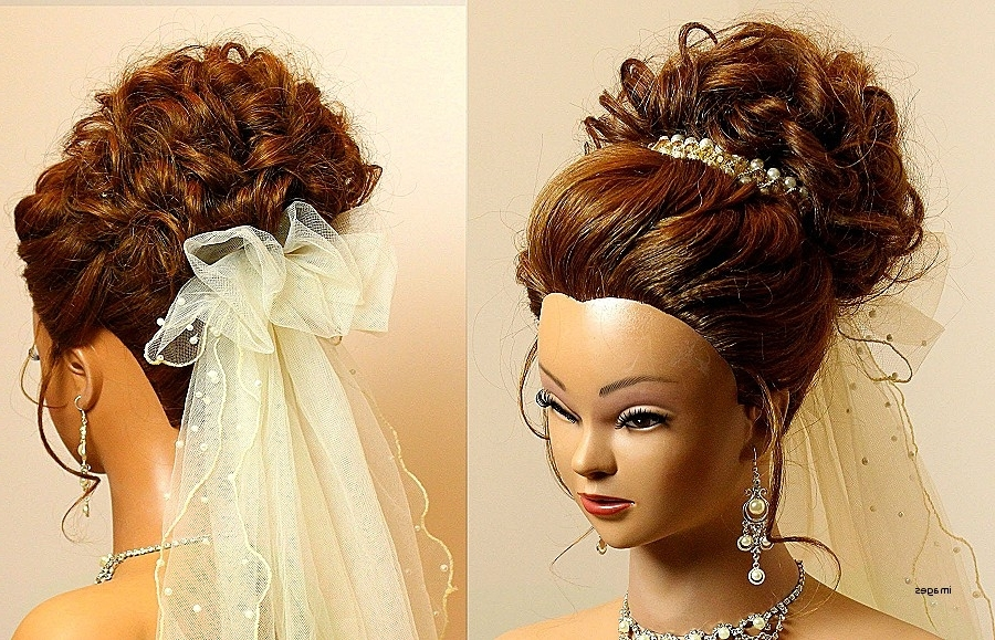 Beautiful Wedding Pin Up Hairstyles Photos – Styles & Ideas 2018 Pertaining To Pin Up Wedding Hairstyles (View 5 of 15)