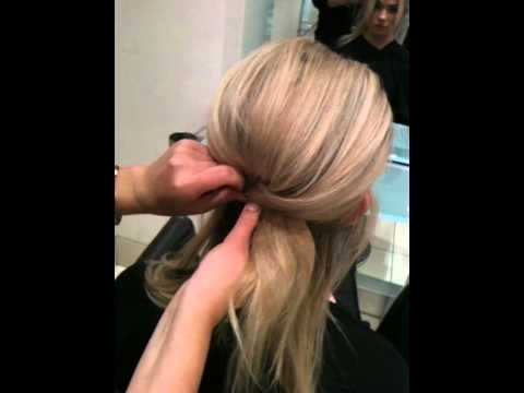 Beehive Half Up Half Down – Youtube Pertaining To Bouffant Quiff Ponytail Wedding Hairstyles (View 5 of 15)
