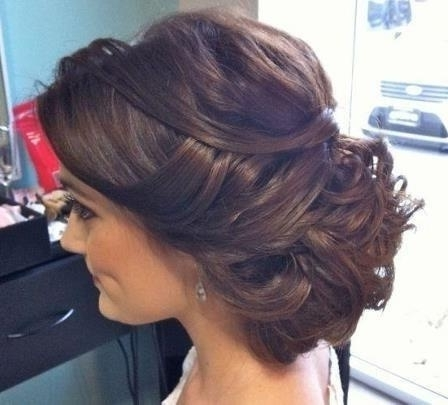Best 100+ Prom Images On Pinterest | Dress Prom, Party Outfits And Within Tied Up Wedding Hairstyles (View 12 of 15)