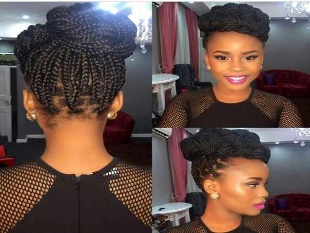 Best 25 Box Braids Updo Ideas On Pinterest | Box Braids Styling . (View 5 of 15)