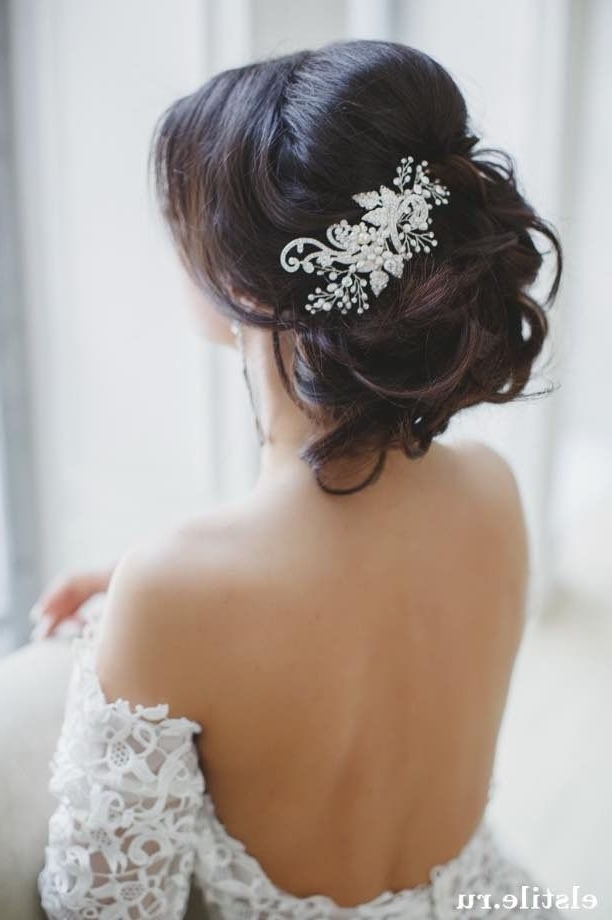 Best 25 Wedding Hair Accessories Ideas On Pinterest Bridal Hair Hair Regarding Wedding Hairstyles With Jewelry (View 8 of 15)