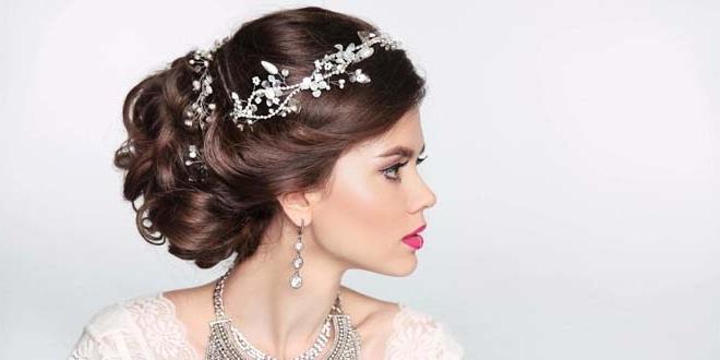 Best Bridal Hairstyles Ideas 2018 – Latest Wedding Day Styles For Bridal Wedding Hairstyles (View 12 of 15)
