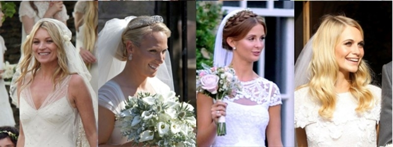 Best Celebrity Wedding Hairstyles   You & Your Wedding With Celebrity Wedding Hairstyles (View 8 of 15)