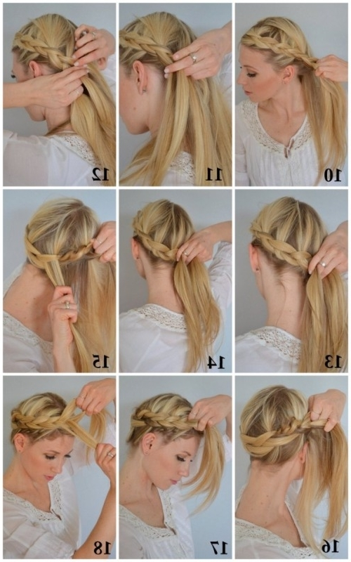 Best Easy To Do Hairstyles For Medium Hair Pictures – Styles & Ideas Pertaining To Do It Yourself Wedding Hairstyles For Medium Length Hair (View 7 of 15)