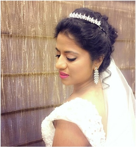 Best Indian Wedding Hairstyles For Christian Inside Christian Bride Wedding Hairstyles (View 6 of 15)