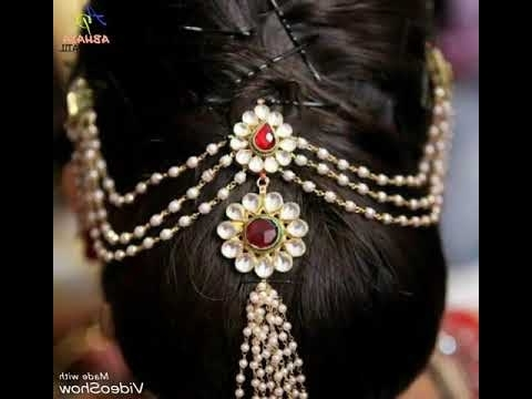Best Maharashtrian Hair Style – Youtube Intended For Maharashtrian Wedding Hairstyles For Long Hair (View 14 of 15)