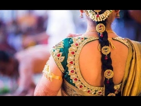 Best South Indian Traditional Bridal Hairstyles For Long Hair Within South Indian Wedding Hairstyles For Long Hair (View 2 of 15)