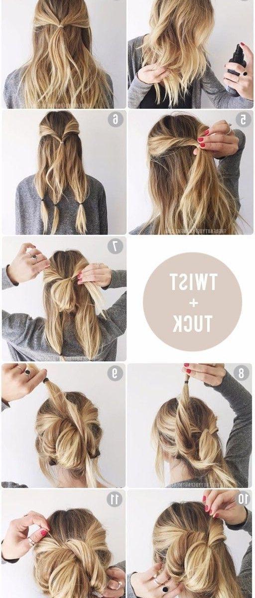 Best Thick Hair Ideas On Pinterest Impressive Hairstyles For Long Regarding Easy Wedding Hairstyles For Long Thick Hair (View 5 of 15)