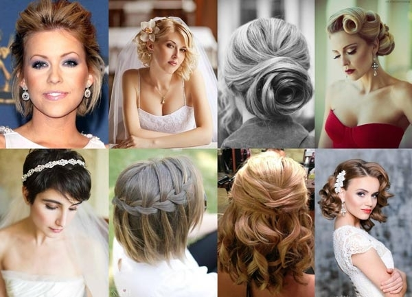 Best Wedding Hairstyles For Short & Fine Hair: Our Top 10! – Heart Regarding Wedding Hairstyles For Very Thin Hair (View 5 of 15)
