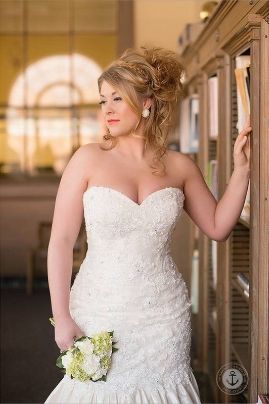 Best Wedding Hairstyles For Strapless Dresses – Gown And Dress Gallery Throughout Wedding Hairstyles For A Strapless Dress (View 7 of 15)