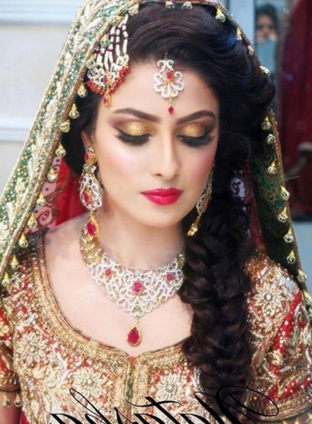 Best Wedding Reception Hairstyles With 10 Indian Bridal Hairstyles With Wedding Hairstyles For Indian Bridal (View 7 of 15)