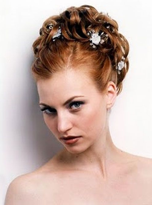 Best Wedding Updos Hair Styles In 2011 | Updos For Medium Length Inside Vintage Wedding Hairstyles For Medium Length Hair (View 4 of 15)