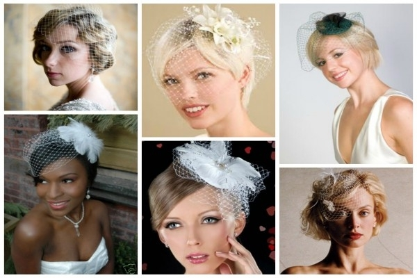 Bird Cage Veil Hairstyles For Short Hair – Hair World Magazine With Wedding Hairstyles For Short Hair With Birdcage Veil (View 10 of 15)