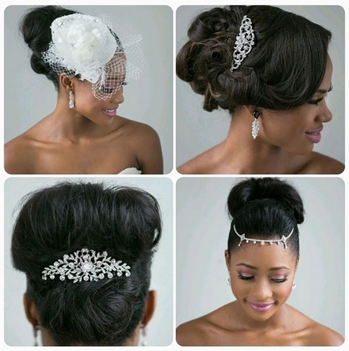 Black Bridal Hairstyles For Long Hair 7 | African American With Regard To Wedding Hairstyles For Long Hair African American (View 15 of 15)