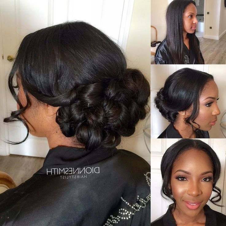 Black Bridal Hairstyles Fresh Best 25 Black Bridesmaids Hairstyles Inside Wedding Hairstyles For Black Bridesmaids (View 4 of 15)