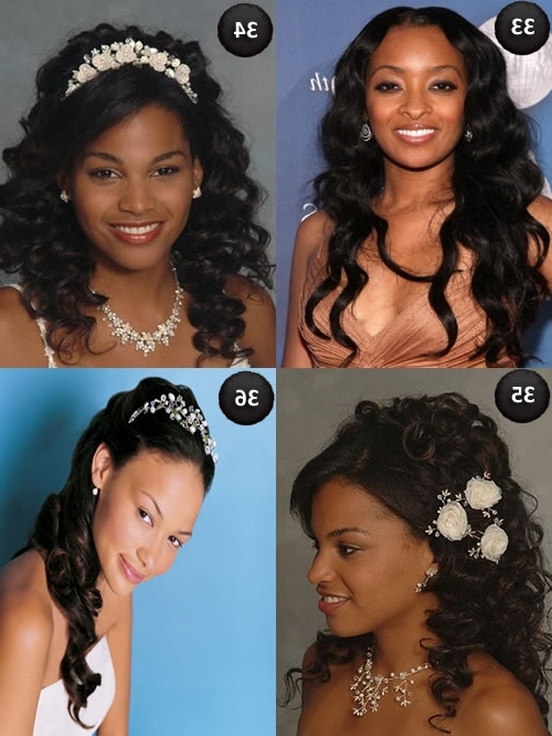 Black Hairstyles For Wedding Bridesmaid – The Newest Hairstyles With Regard To Wedding Hairstyles For African American Brides (View 11 of 15)