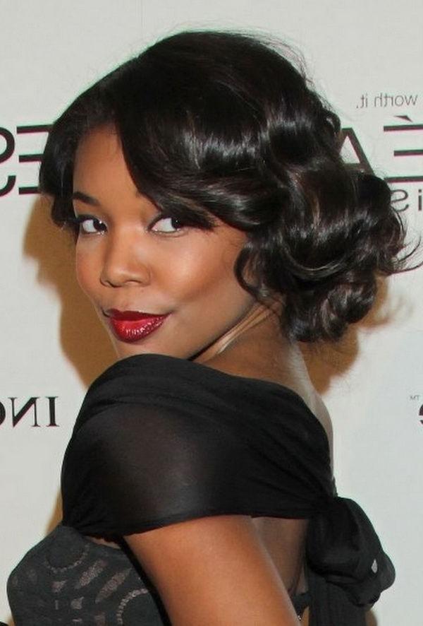 Black Hairstyles For Weddings | Wedding Hairstyles For Black Women Regarding Wedding Hairstyles For Black Girl (View 6 of 15)