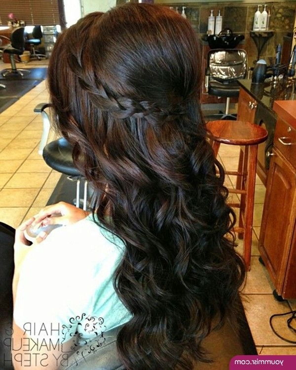 Black Wedding Hairstyles 2015 2016 For Long Hair 1 | Shylas Prom Regarding Wedding Hairstyles For Long Black Hair (View 10 of 15)