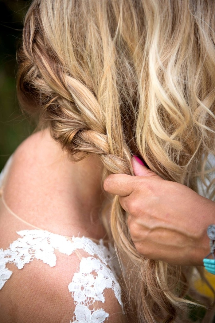 Boho Wedding Hairstyles You Just Have To Try For Your Wedding! Inside Boho Wedding Hairstyles (View 13 of 15)