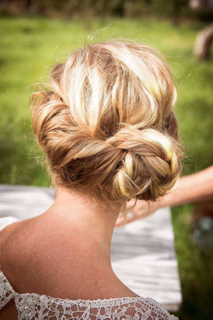 Boho Wedding Hairstyles You Just Have To Try For Your Wedding! Inside Boho Wedding Hairstyles (View 7 of 15)
