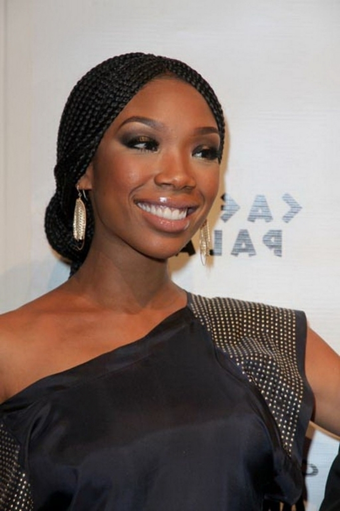 Box Braid Wedding Styles Tag African French Braids Archives Black Within Box Braids Wedding Hairstyles (View 9 of 15)
