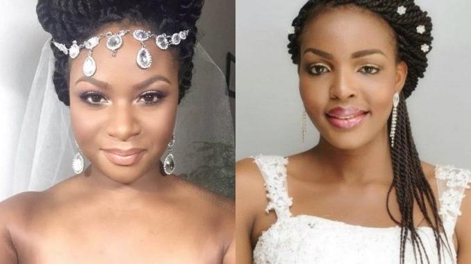 Box Braids Wedding Hair | Fade Haircut With Wedding Hairstyles With Box Braids (View 11 of 15)
