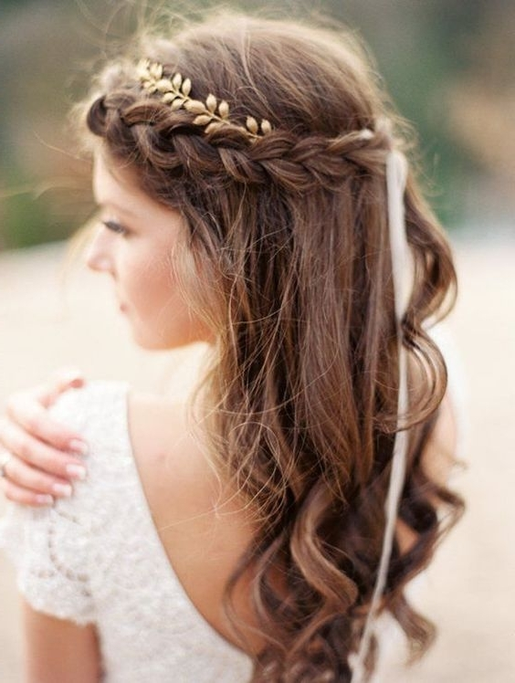 Braid Hairstyles For Wedding – The Newest Hairstyles For Wedding Braids Hairstyles (View 9 of 15)