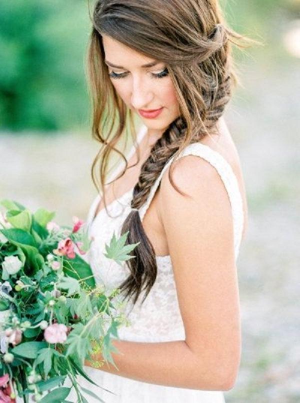 Braid Wedding Hairstyles For Long Hair   Deer Pearl Flowers Throughout Summer Wedding Hairstyles For Bridesmaids (View 15 of 15)