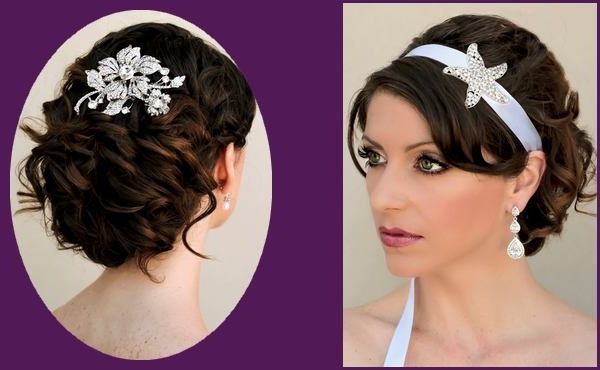 Braided Updo Hairstyles For Black Hair Women In Wedding Hairstyles For Medium Length With Black Hair (View 7 of 15)