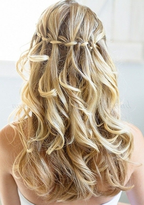 Braided Wedding Hairstyles – Braided Wedding Hairstyle | Hairstyles Pertaining To Wedding Hairstyles With Braids For Bridesmaids (View 14 of 15)