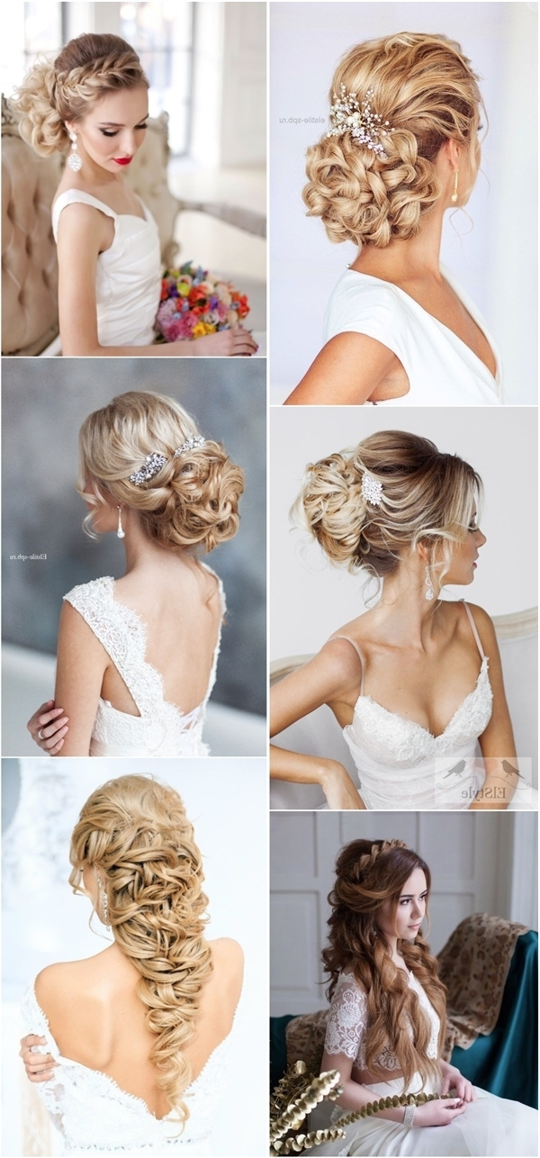 Braided Wedding Hairstyles For Long Hair | Deer Pearl Flowers With Wedding Hairstyles For Long Hair With Braids (View 6 of 15)