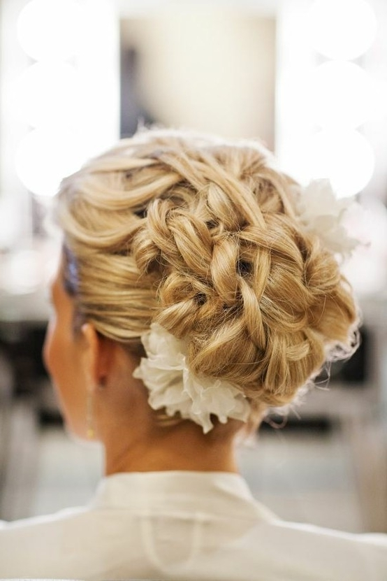 Braided Wedding Hairstyles For Long Hair – Weddingslilly In Wedding Updos For Long Hair With Braids (View 10 of 15)