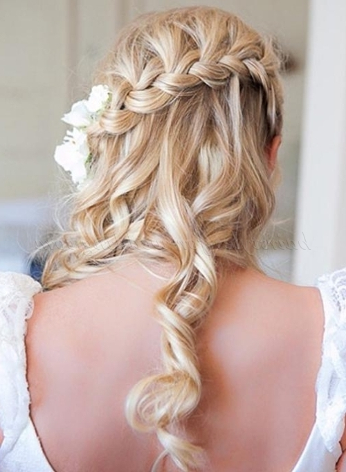 Braided Wedding Hairstyles – Plaited Wedding Hairstyle | Hairstyles Inside Wedding Hairstyles With Plaits (View 8 of 15)